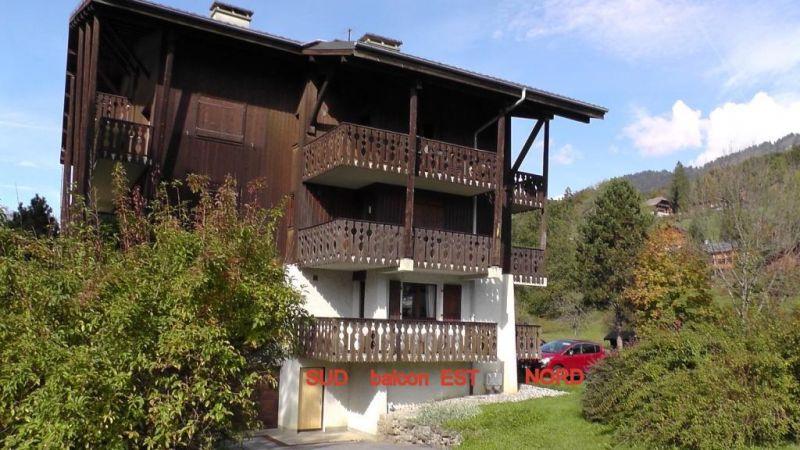 Vista esterna della casa vacanze Affitto Appartamento 91122 Samoëns