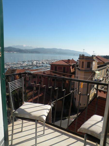 Vista dal balcone Affitto Appartamento 94054 Portovenere