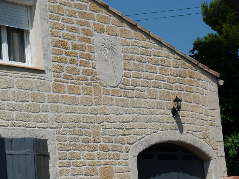 Vista esterna della casa vacanze Affitto Appartamento 101756 Vedène