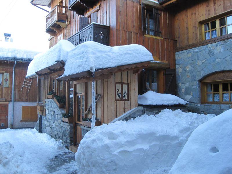 Vista esterna della casa vacanze Affitto Chalet 106839 Courchevel