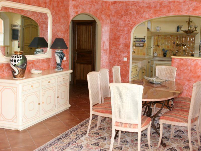 Sala da pranzo Affitto Villa  108337 Fayence