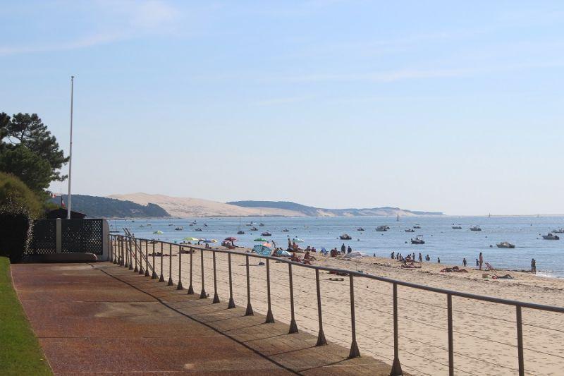 Vista dalla casa vacanze Affitto Appartamento 109889 Pyla sur Mer