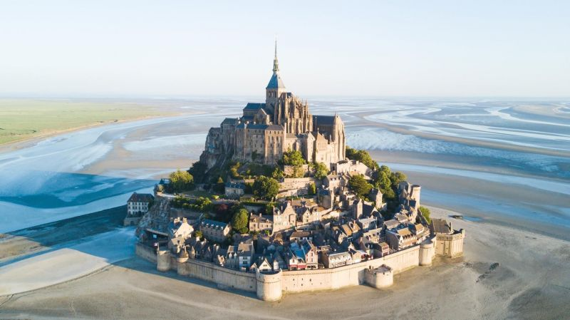 Vista nelle vicinanze Affitto Agriturismo 110861 Mont Saint Michel