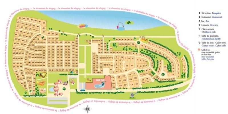 Pianta casa vacanze Affitto Casa mobile 117293 Blois