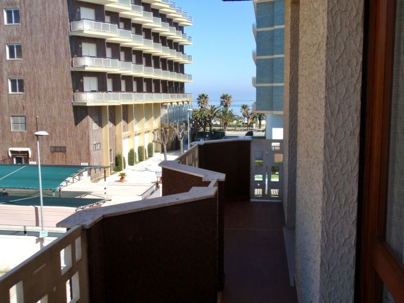 Vista dal balcone Affitto Appartamento 118420 Alba Adriatica