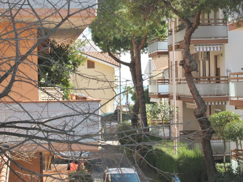 Vista dal balcone Affitto Appartamento 77121 Tortoreto