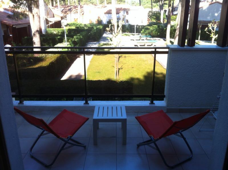 Vista dal terrazzo Affitto Appartamento 81259 Les Mathes