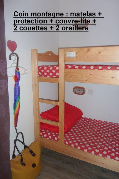 Zona notte cabina Affitto Appartamento 87874 Risoul 1850