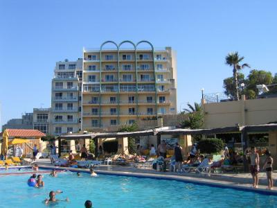 Vista esterna della casa vacanze Affitto Appartamento 94875 La Valletta