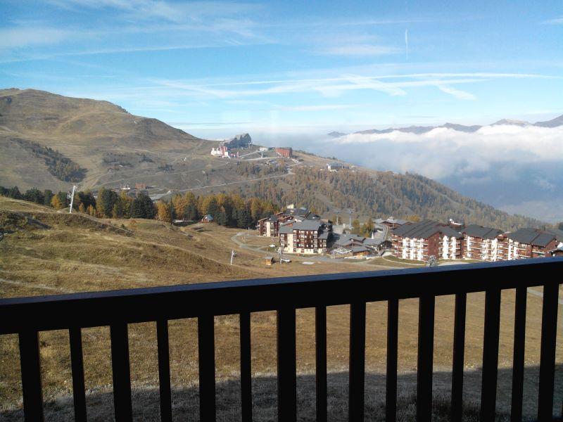 Vista dal balcone Affitto Monolocale 101645 La Plagne