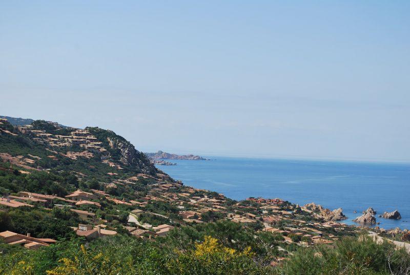 Vista dal terrazzo Affitto Villa  109505 Trinità d'Agultu e Vignola