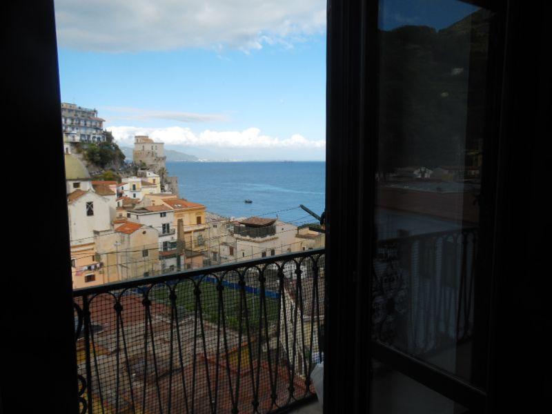 Vista dalla casa vacanze Affitto Appartamento 109935 Amalfi
