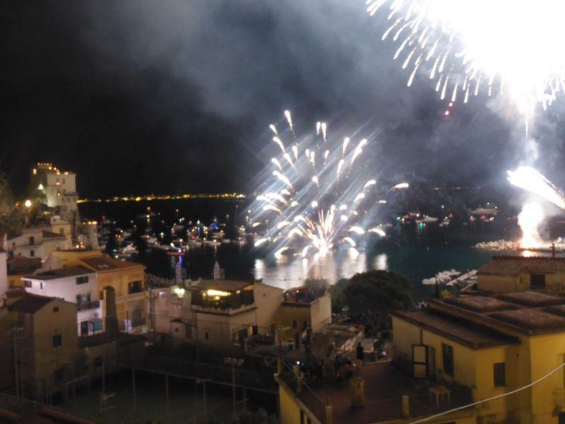 Vista dal balcone Affitto Appartamento 109935 Amalfi