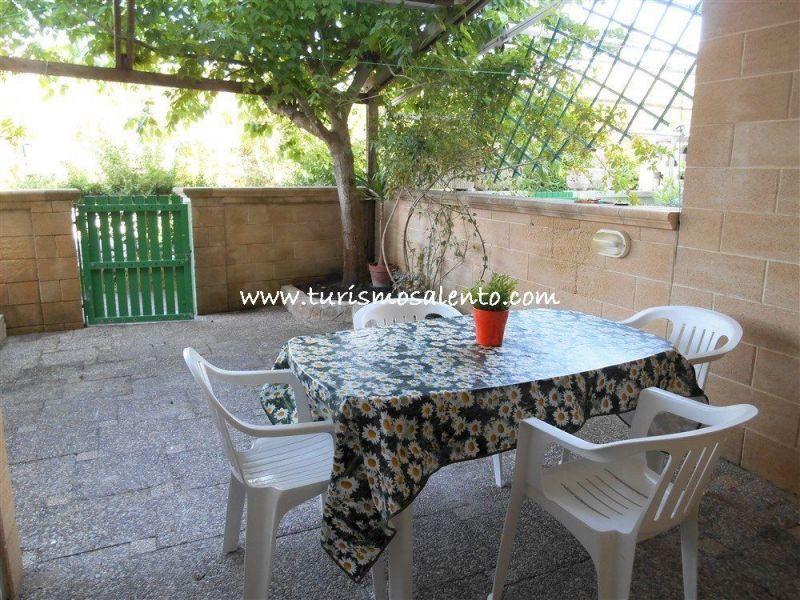 Vista esterna della casa vacanze Affitto Monolocale 111072 Gallipoli
