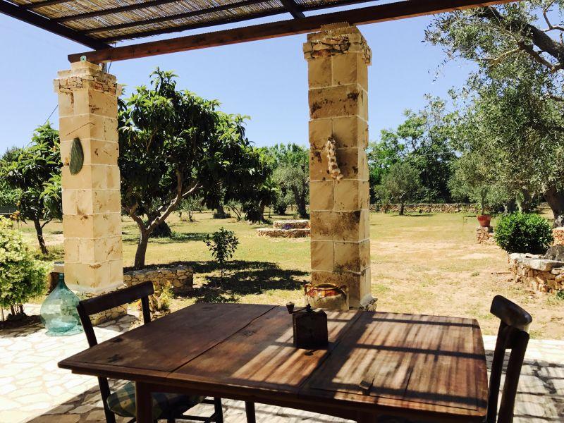 Vista dalla casa vacanze Affitto Casa rupestre 112062 Gallipoli
