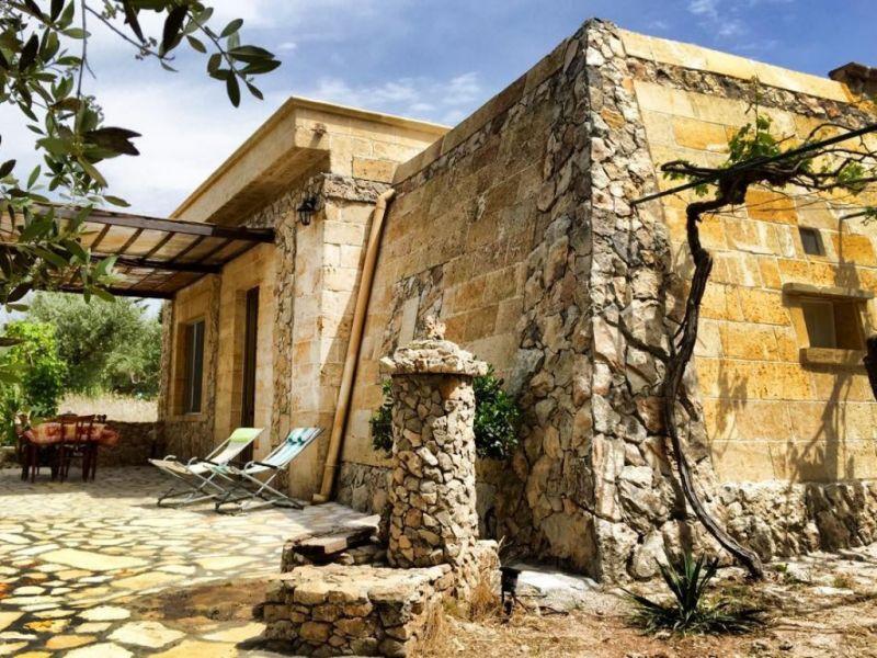 Vista esterna della casa vacanze Affitto Casa rupestre 112062 Gallipoli