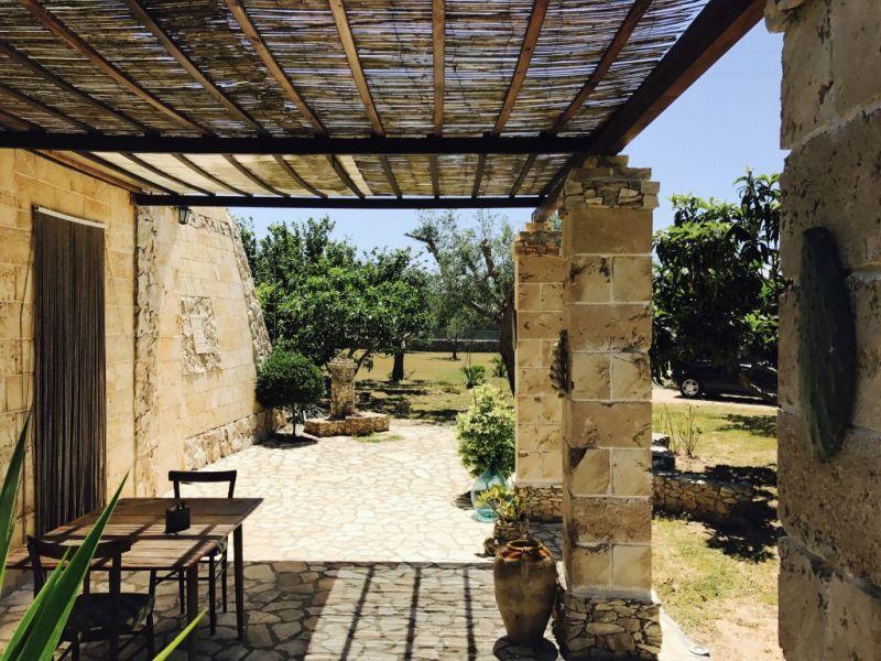 Veranda 1 Affitto Casa rupestre 112062 Gallipoli