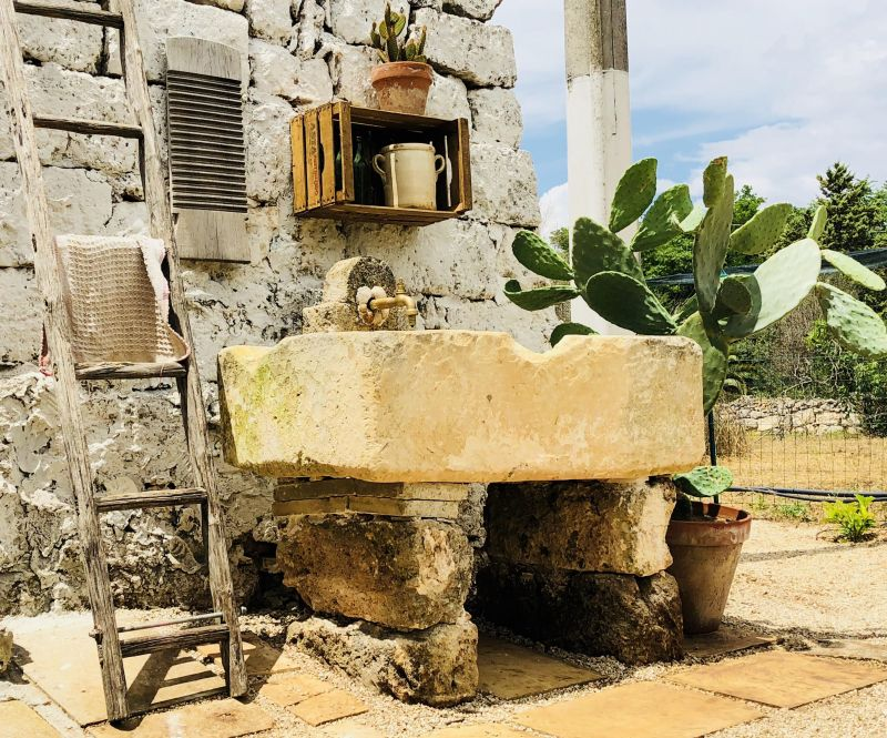 Giardino Affitto Casa rupestre 112062 Gallipoli