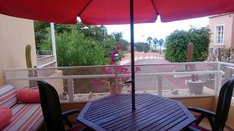 Vista dal terrazzo Affitto Appartamento 113177 Playa de las Américas