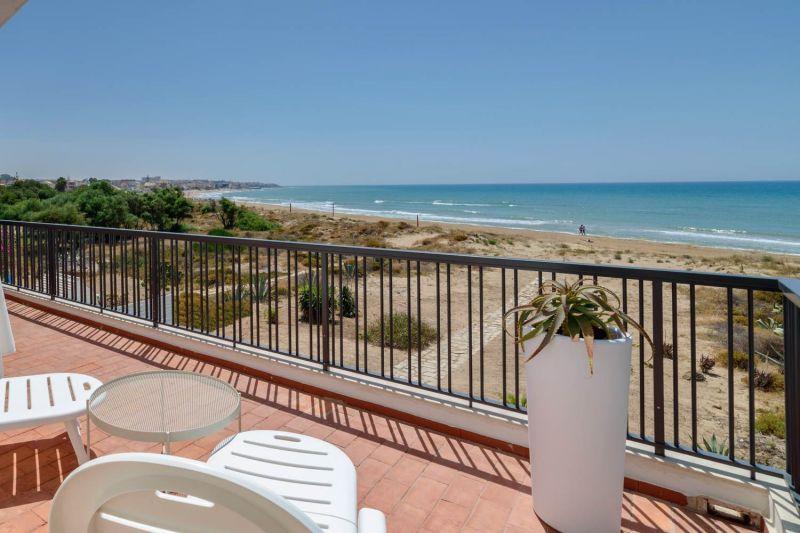 Vista dalla casa vacanze Affitto Villa  116102 Marina di Ragusa