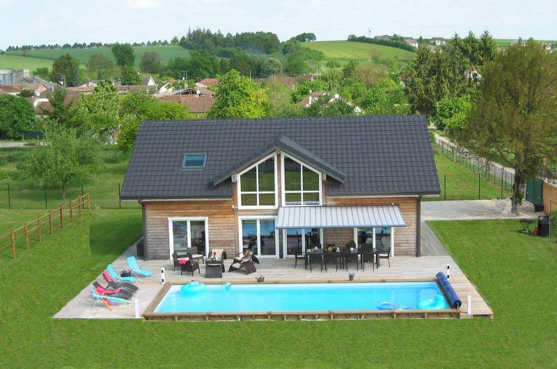 Vista esterna della casa vacanze Affitto Villa  116677 Troyes