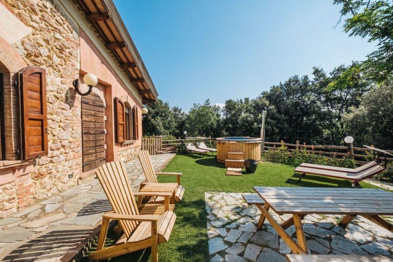 Cortile Affitto Villa  118750 Gavorrano