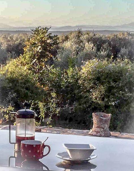 Vista dal terrazzo Affitto Villa  118805 Bonifacio