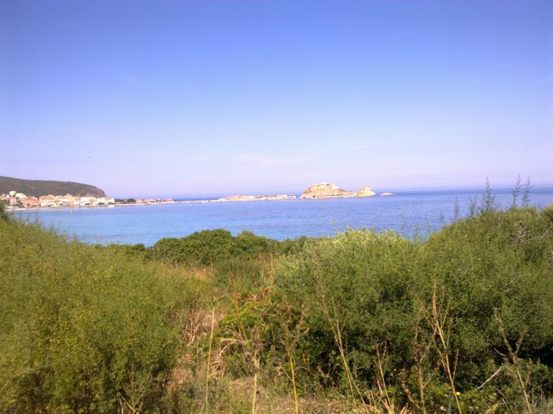 Vista esterna della casa vacanze Affitto Appartamento 64700 Isola Rossa