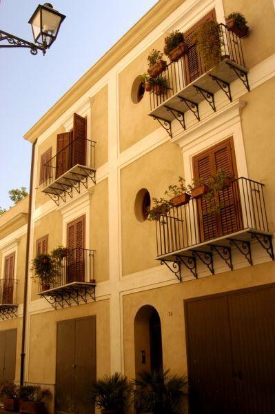 Vista esterna della casa vacanze Affitto Appartamento 85412 Palermo
