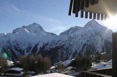 Vista dal terrazzo Affitto Appartamento 91727 Les 2 Alpes