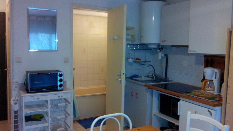 Angolo cottura Affitto Monolocale 92560 Valras-Plage