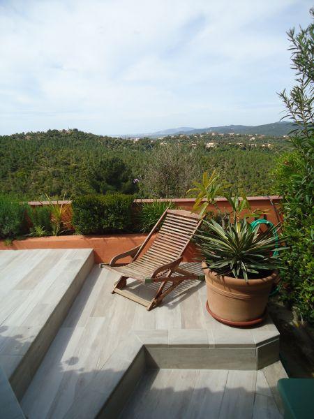 Vista dalla casa vacanze Affitto Casa 100590 La Londe les Maures