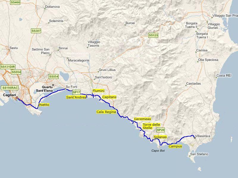 Mappa Affitto Appartamento 102637 Quartu Sant'Elena