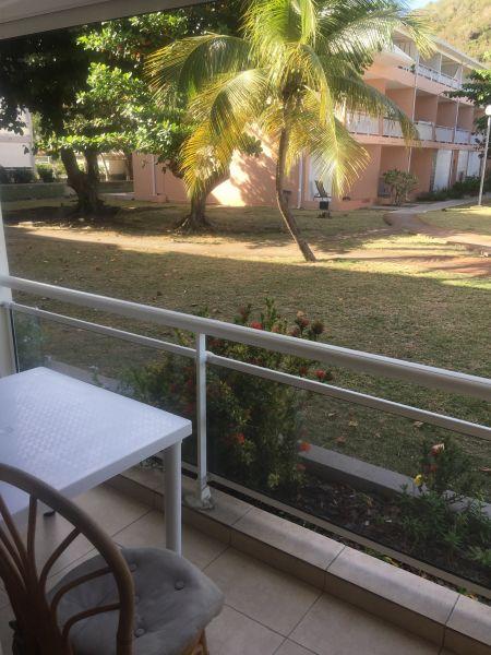 Vista dal balcone Affitto Monolocale 108428 Marigot