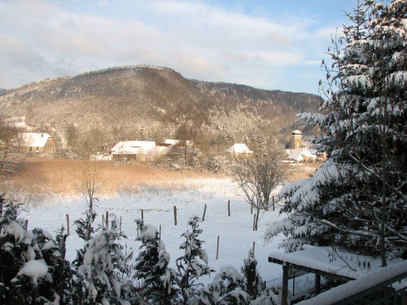 Vista dalla casa vacanze Affitto Agriturismo 113029 Salins les Bains
