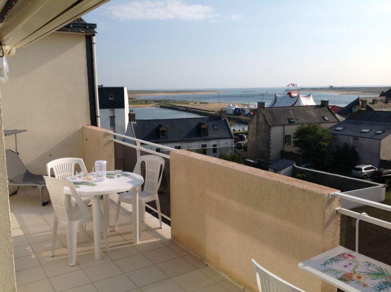 Vista dal terrazzo Affitto Appartamento 116267 Etel/Ria d'Etel