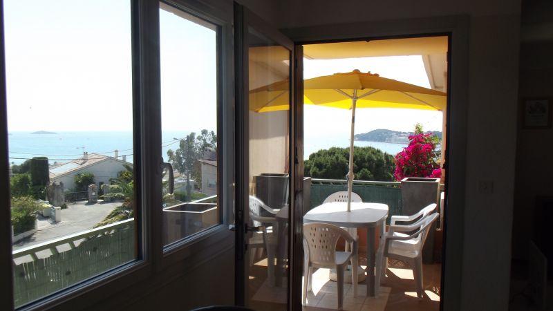 Vista dalla casa vacanze Affitto Appartamento 116725 Sanary
