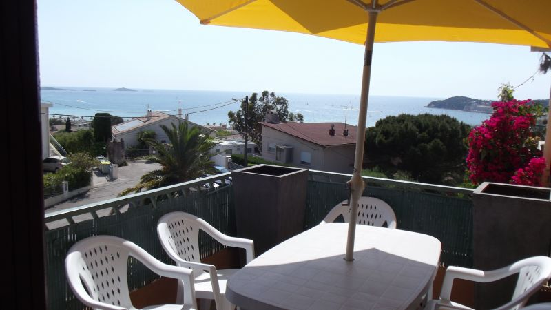 Vista dal balcone Affitto Appartamento 116725 Sanary