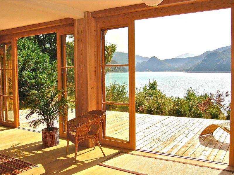 Vista dalla casa vacanze Affitto Agriturismo 116875 Castellane
