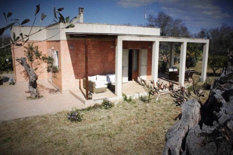 Vista esterna della casa vacanze Affitto Villa  118430 Gallipoli