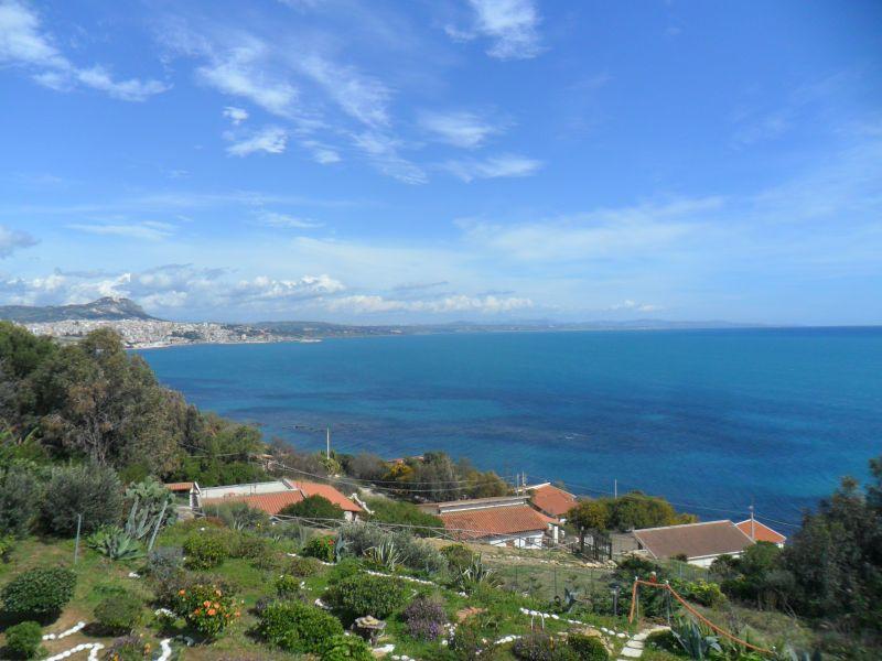 Vista dal terrazzo Affitto Appartamento 64338 Sciacca