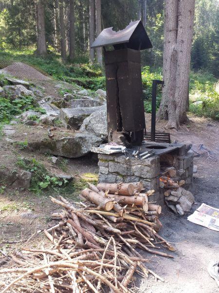Barbecue Affitto Monolocale 64404 Marilleva