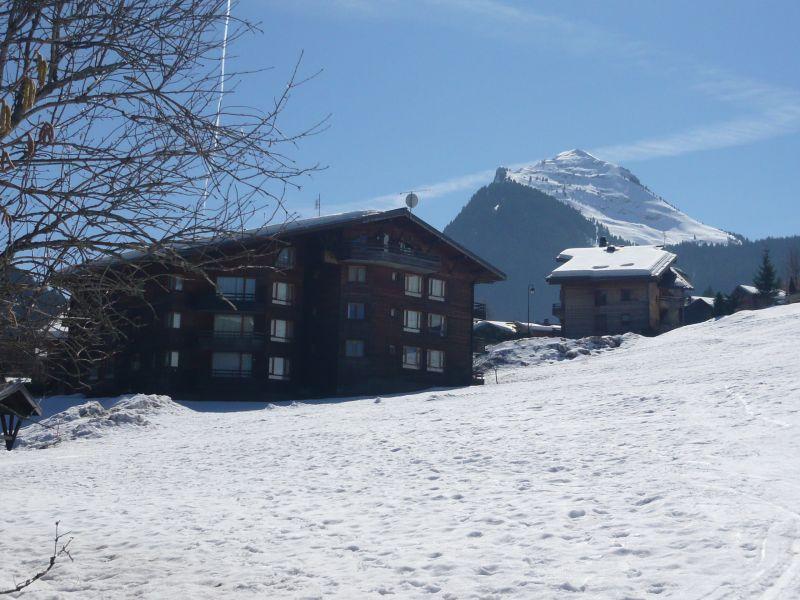 Vista esterna della casa vacanze Affitto Appartamento 66830 Morzine