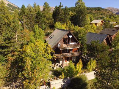 Vista esterna della casa vacanze Affitto Chalet 72610 Val d'Allos