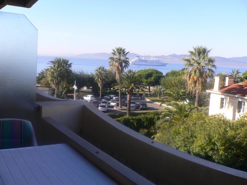 Vista dal balcone Affitto Monolocale 75254 Saint Raphael