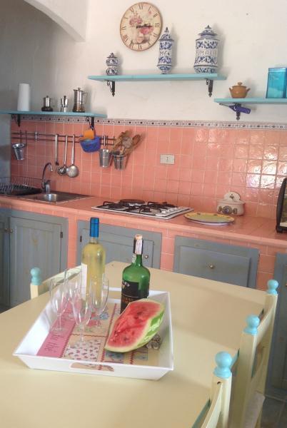 Cucina all'americana Affitto Appartamento 75425 Chia