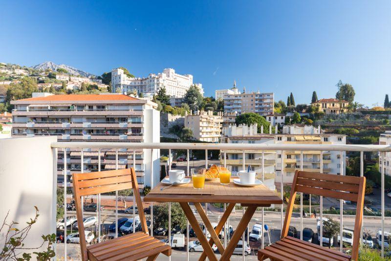 Vista dal balcone Affitto Appartamento 77050 Menton (Mentone)