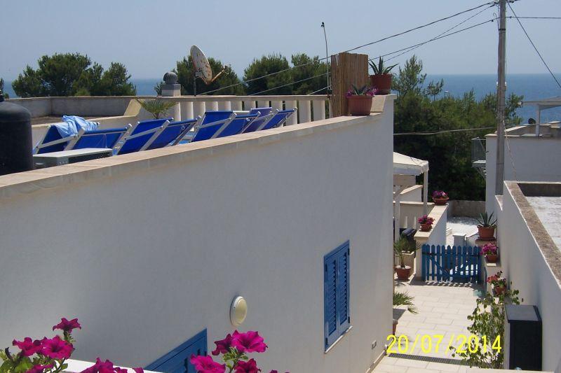 Vista esterna della casa vacanze Affitto Appartamento 77582 Marina di Novaglie