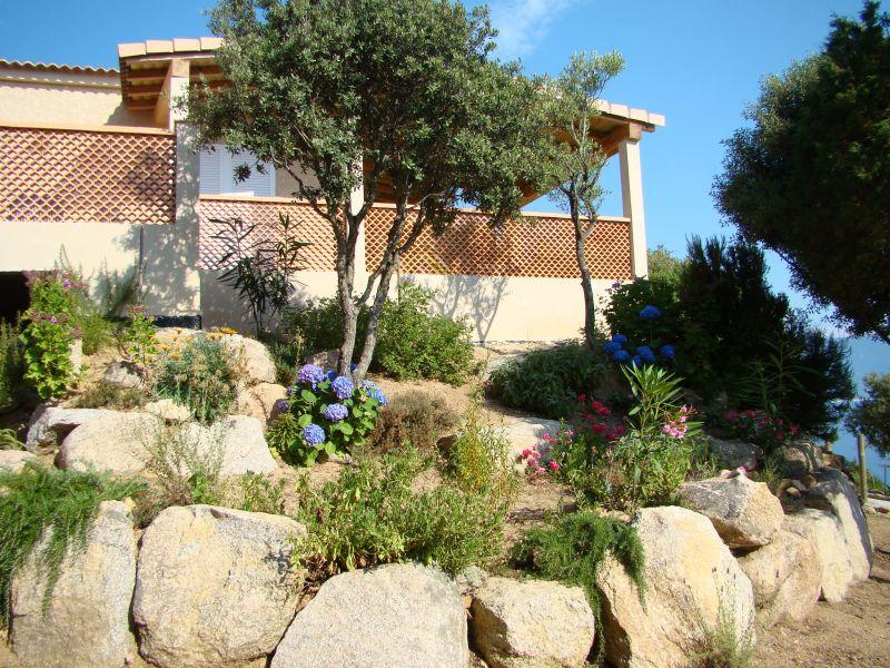Vista esterna della casa vacanze Affitto Villa  79457 Propriano