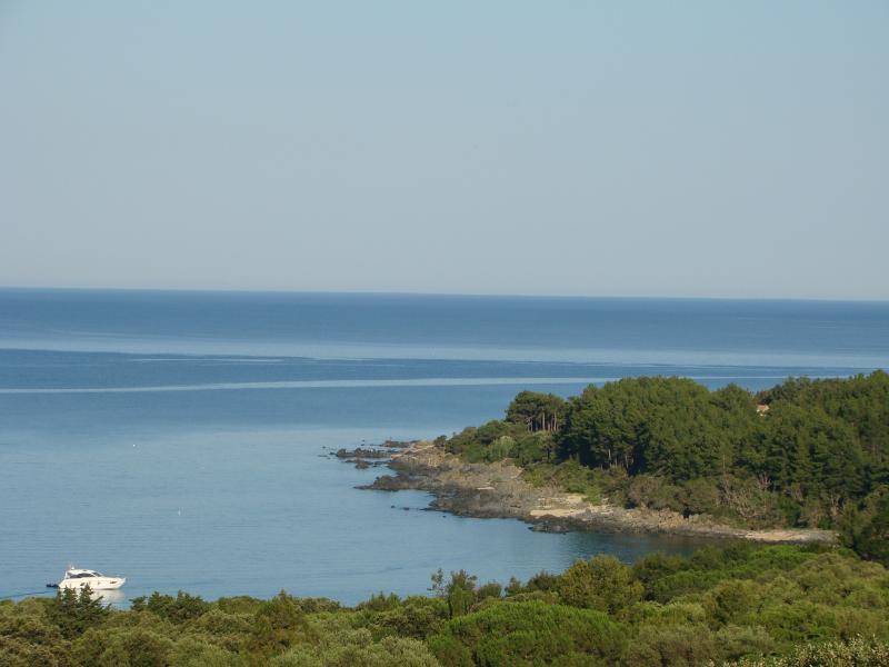 Vista dalla casa vacanze Affitto Villa  79457 Propriano